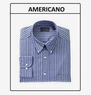 Colarinho americano – Camisas