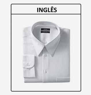 Colarinho inglês – Camisas